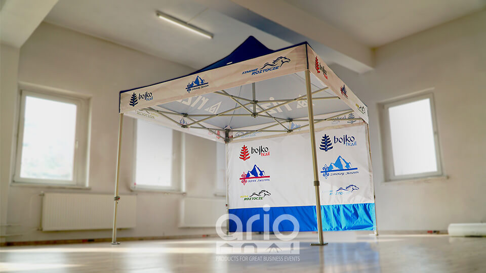 namiot aluminiowy handlowy Ultra Janosik