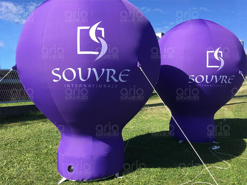 balony stacjonarne souvre