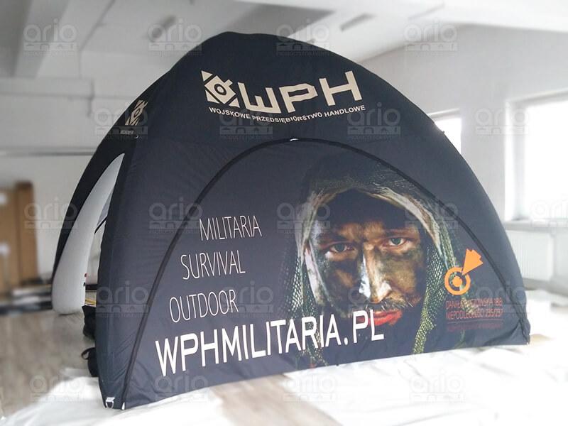 namiot stałociśnieniowy WPH