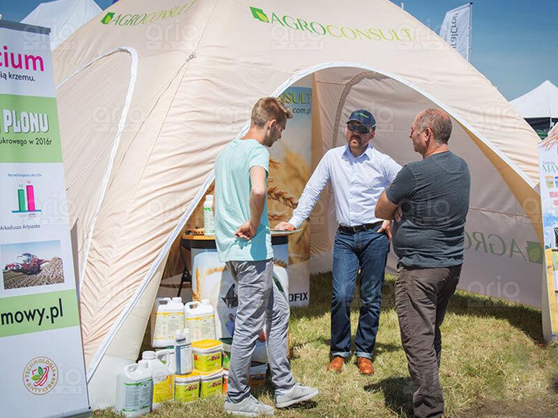 namiot stałociśnieniowy agroconsult