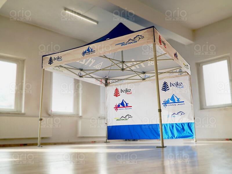 namiot stelażowy bojko