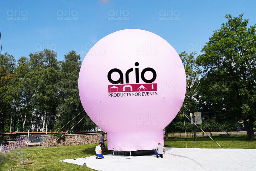 duze balony reklamowe ario