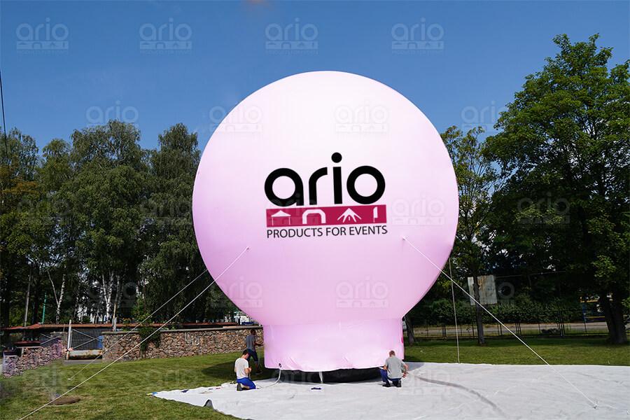 Duże balony reklamowe – możliwości promocyjne